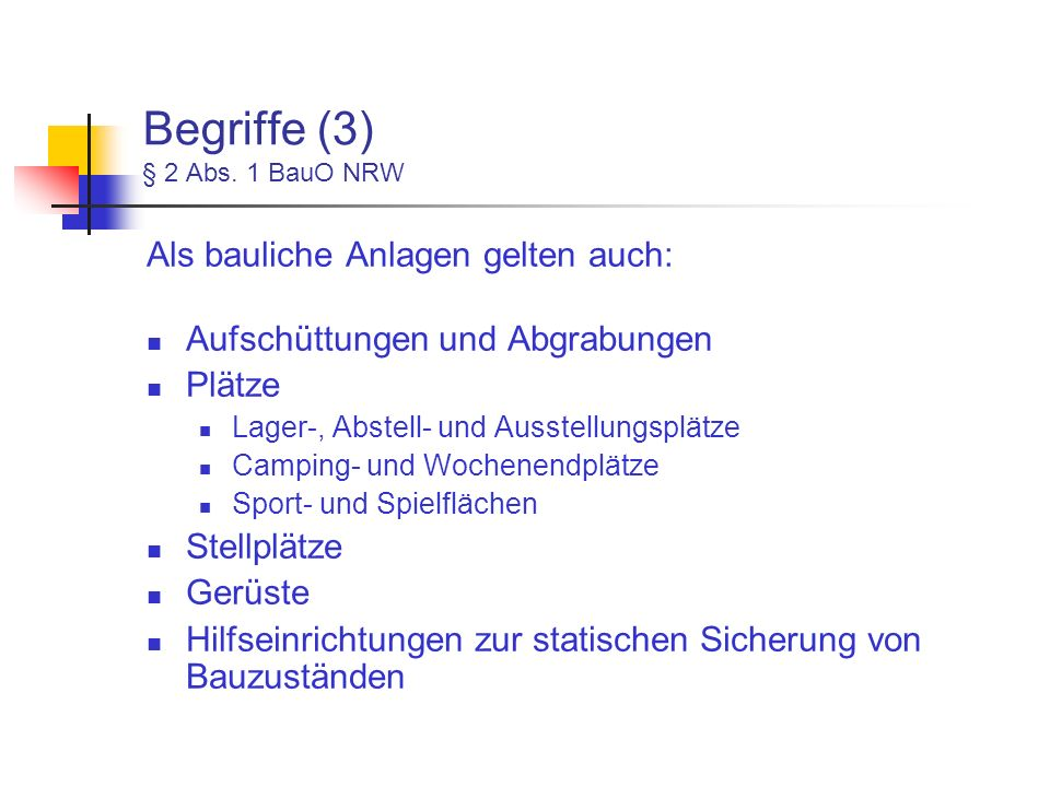 Begriffe (3) § 2 Abs.