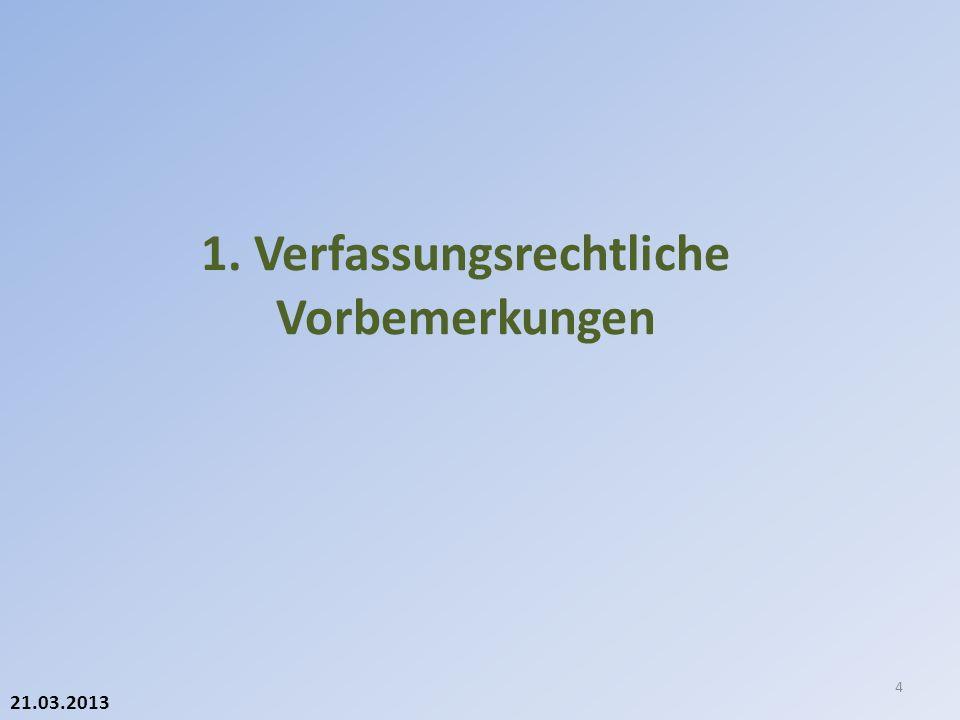 21.03.2013 Steuern (Art.131 BV) 1 Der Bund kann besondere Verbrauchssteuern erheben auf: a.