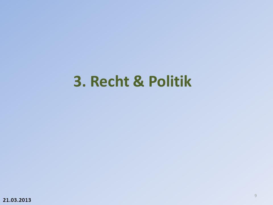 21.03.2013 Willkür / Treu & Glauben (Art.