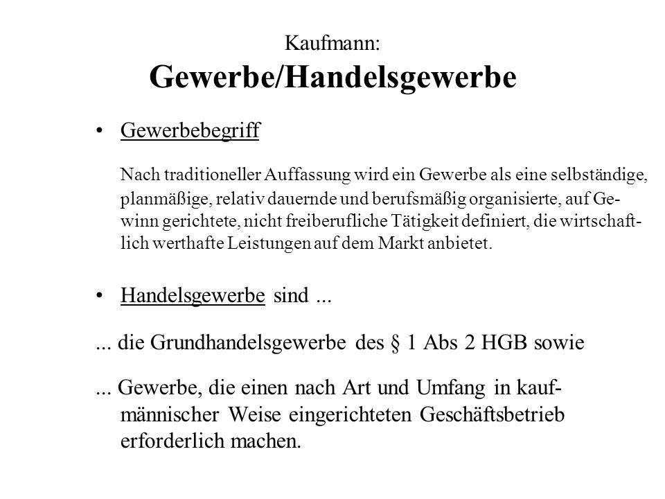 Firmenbuch I Eintragungspflicht für natürliche Personen, wenn nach § 189 rechnungslegungspflichtig (§ 8 Abs 1 UGB), d.h.