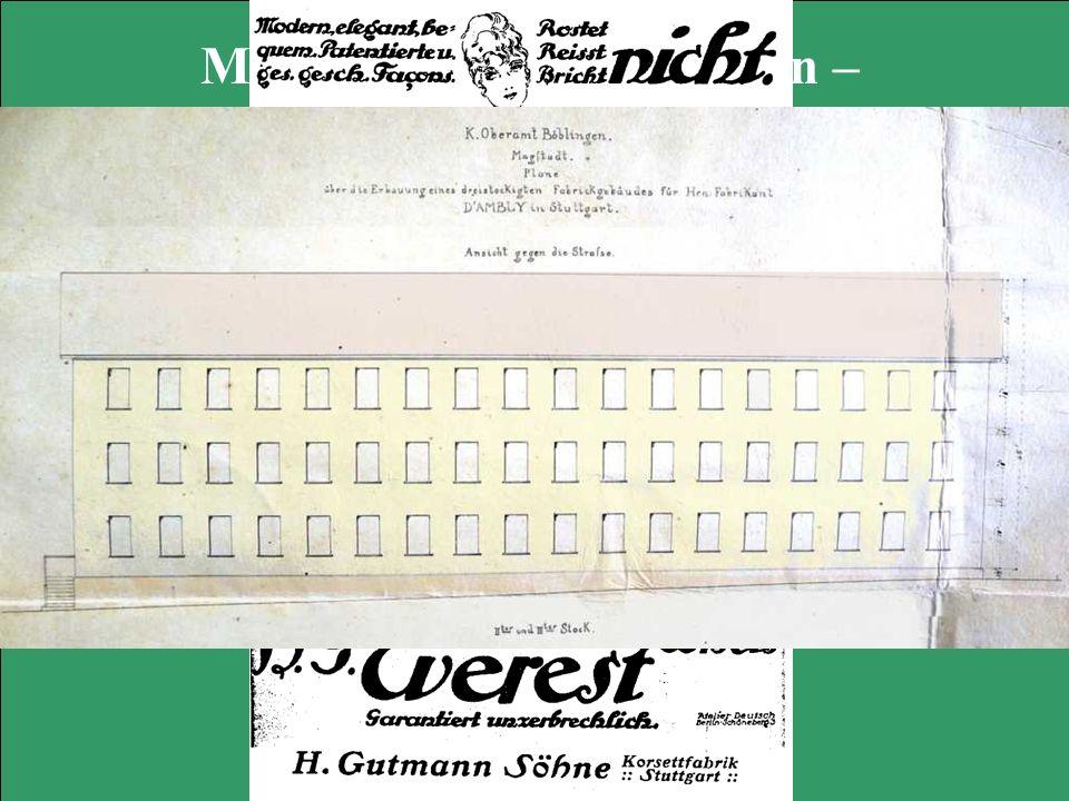 Magstadts Korsettfabriken – die wilde Konjunktur der frühen Industrie