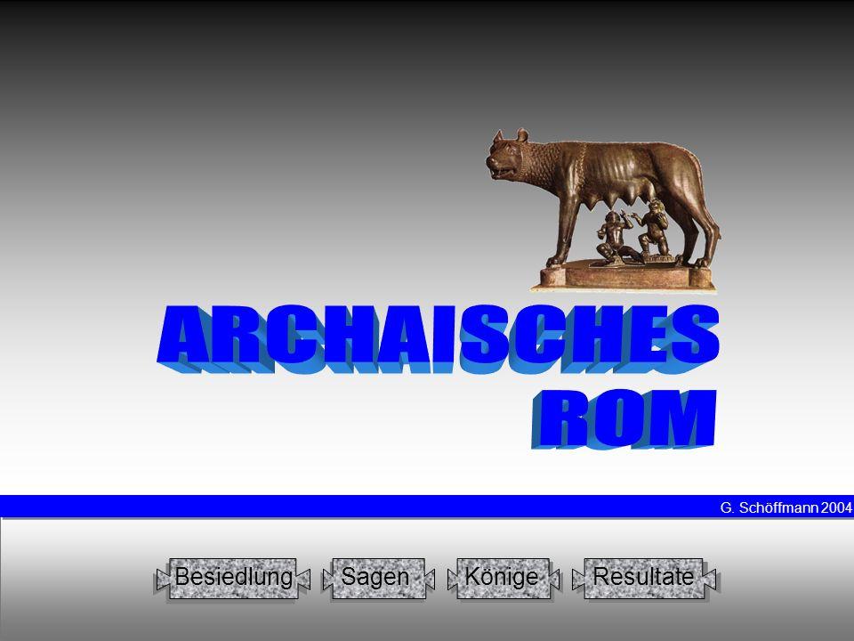König4Ancus Marcius ANCVS MARCIVS wird 641 gewählt soll - nach dem frevlerischen Hostilius – religiöse Bräuche erneuert haben Sieg über die Latiner und Sabiner sowie deren Ansiedlung in Rom Bau des Pons sublicius Anlage der Kolonie Ostia an der Tibermündung schon Gentilnomen Ahnherr der gens Marcia, die sich mit dem Cognomen Rex schmückt (ab 171 v.