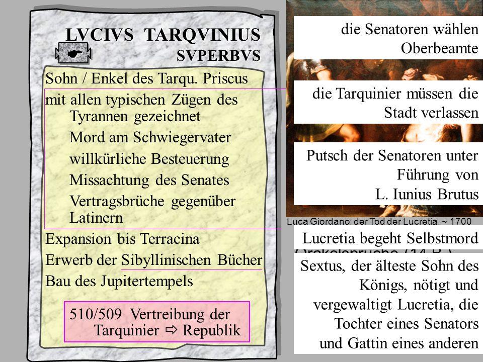 König7 Tarqu Superbus LVCIVS TARQVINIUS SVPERBVS Einfluss der griechischen Anti- tyrranenliteratur des 5. und 4. Jhdts. v. Chr. Sammlung griechischer