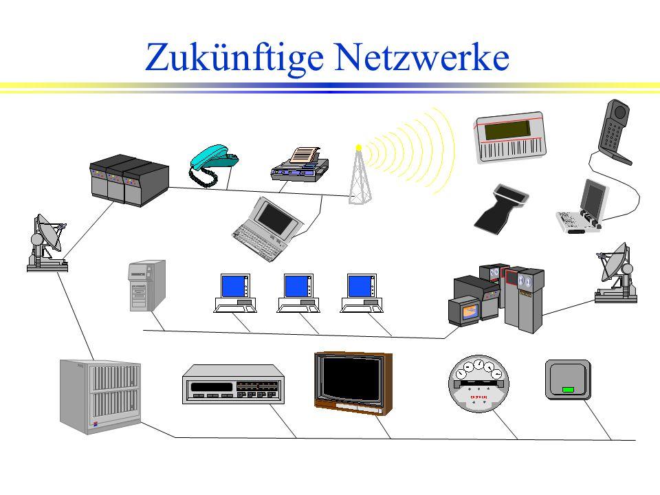 Kommende Standards l Alle PC-Arbeitsplätze (auch auf den Baustellen) sind miteinander vernetzt. l Alle Mitarbeiter haben einen personifizierten Netzzu