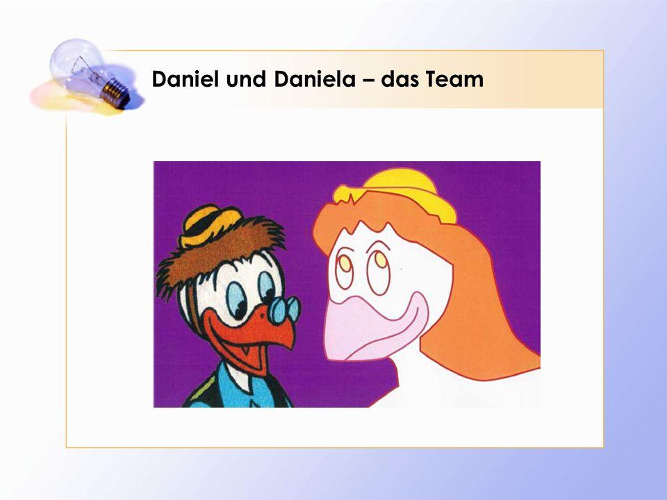 Ich bin eine Daniela Düsentrieb (1) Primarschule in Zug, Herisau, Frauenfeld Kanti in Frauenfeld Assistentin bei Schindler Aufzüge in Ebikon / Luzern