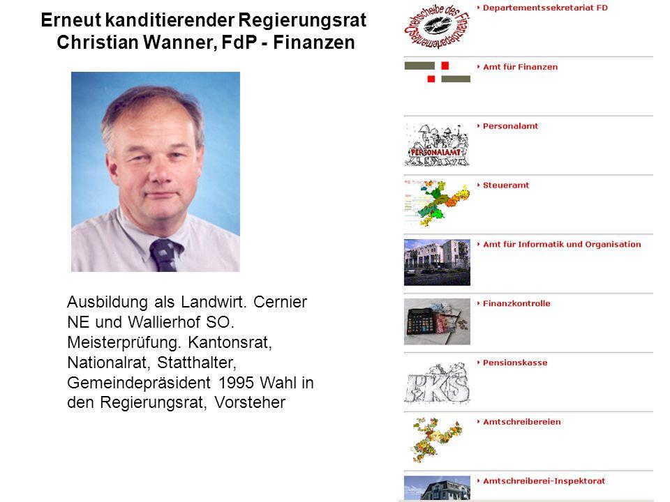 Die parteiintere Abstimmung als offizielle Kanditatin gewann Frau Gassler mit 156:98 gegen Gabriele Plüss Offizielle Kandidatin FDP: Esther Gassler aufgewachsen am Bodensee, Primarlehrerin, Unternehmerin und Mitinhaberin Hans Gassler AG.