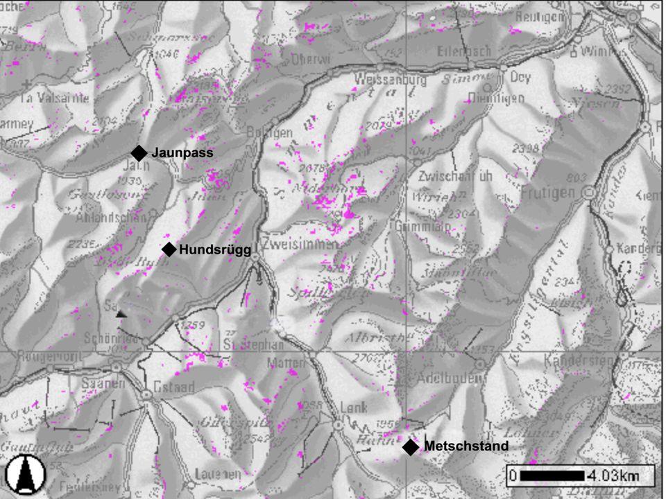 2.GIS-Analyse Definition GIS - Geografisches - Informations - System Raumbezogene Daten 1.
