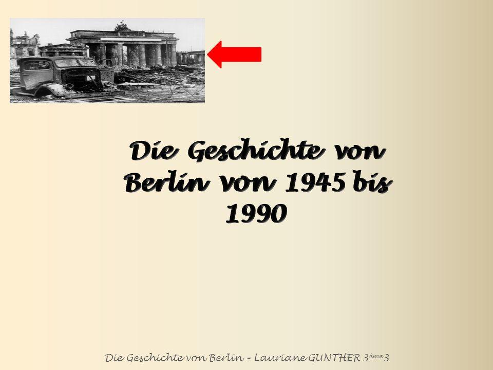 Berlin im Jahre 1945
