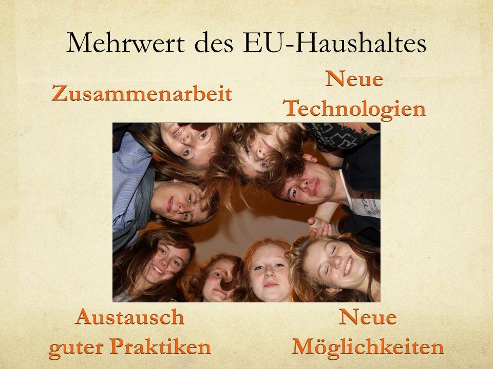 Mehrwert des EU-Haushaltes
