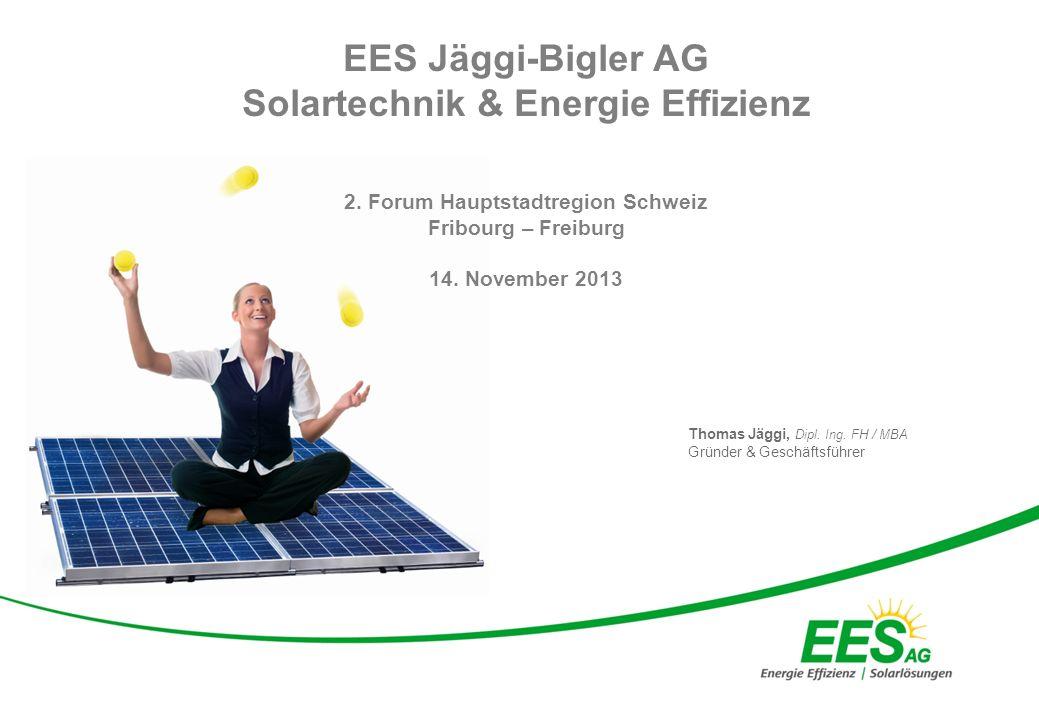 Page 2 EES Jäggi-Bigler AG Hauptsitz in Etziken (Kt.SO)