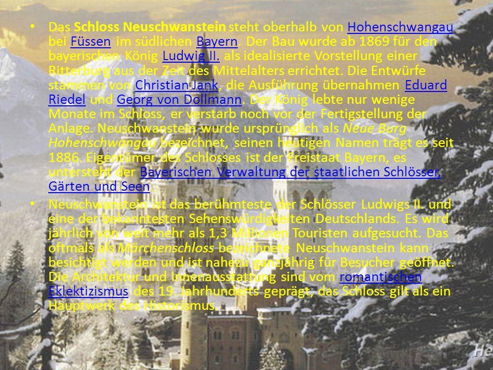 Schloss Neuschwanstein ist schön.schön