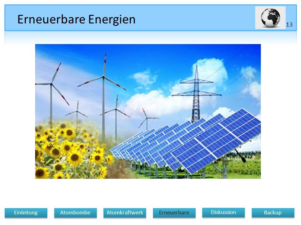 Erneuerbare Energien Diskussion Atomkraftwerk Erneuerbare Einleitung Atombombe Backup 13