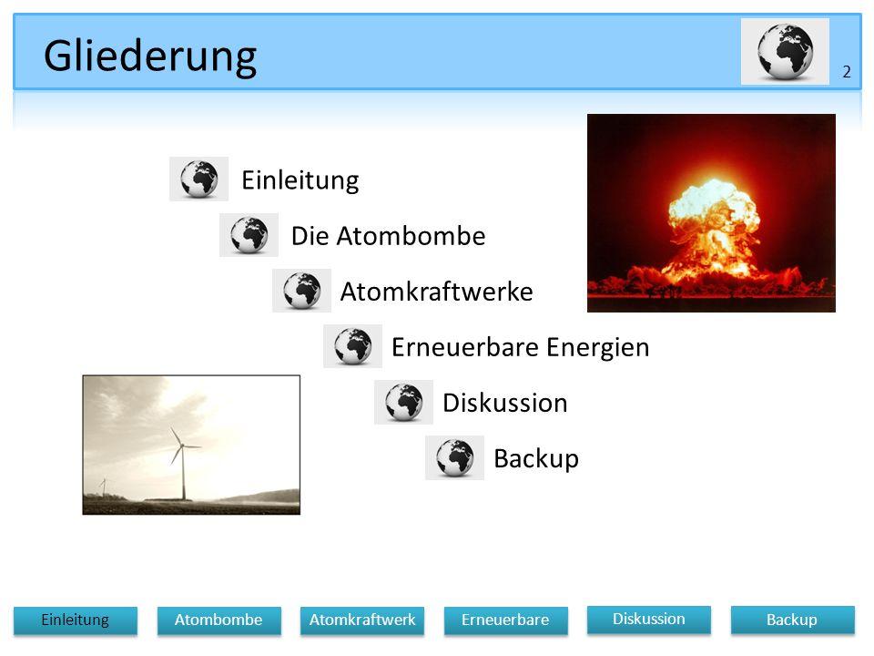 Diskussion Atomkraftwerk Erneuerbare Einleitung Atombombe Backup CO 2 Erzeugung pro Kopf Weltweit 1.USA 29 Tonnen 2.Australien21 Tonnen 3.Kanada20 Tonnen 4.Schweiz18 Tonnen 5.Finnland18 Tonnen 6.Niederlande17 Tonnen 7.Belgien17 Tonnen 8.Irland16 Tonnen 9.Zypern16 Tonnen 10.UK15 Tonnen