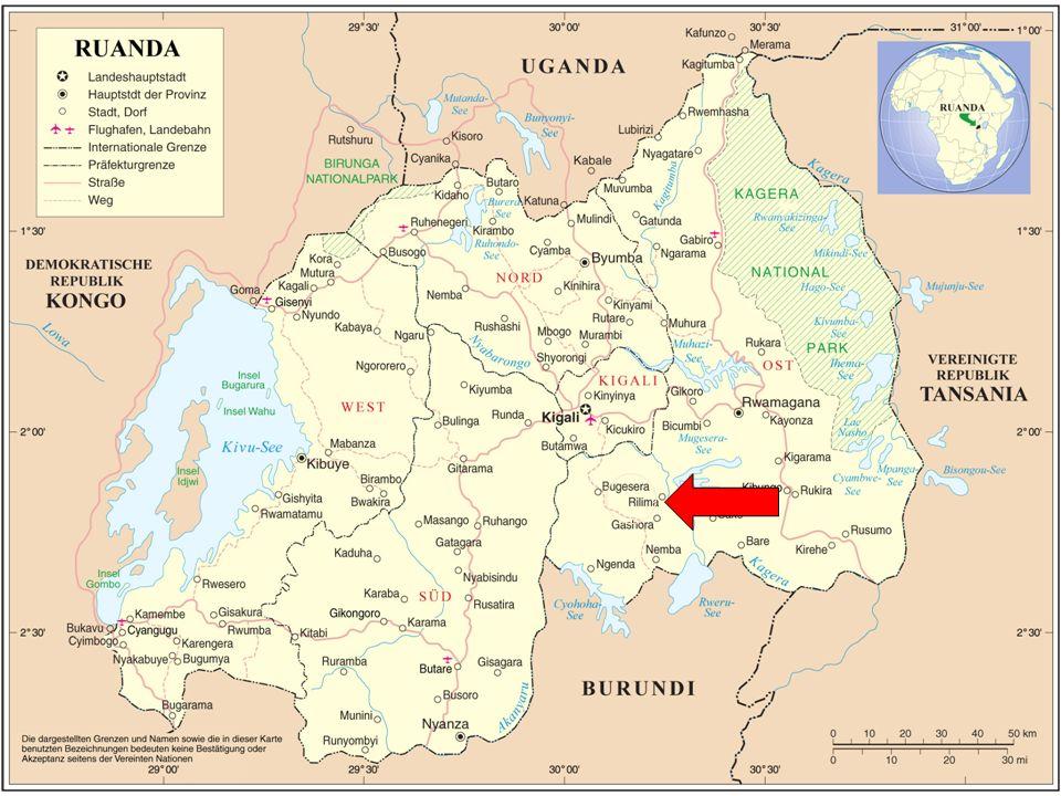 Folie 5 PRINZIP GRASWURZEL- PARTNERSCHAFT Ideen kommen vom ruandischen Partner Mitarbeiter/innen des Koordinationsbüros Kigali helfen bei Projektantrag Sie begleiten die Projekte und überwachen ihre Umsetzung