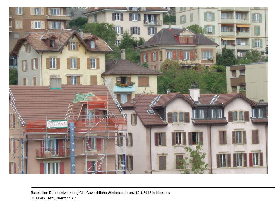 5 Baustellen Raumentwicklung CH. Gewerbliche Winterkonferenz 12.1.2012 in Klosters Dr.