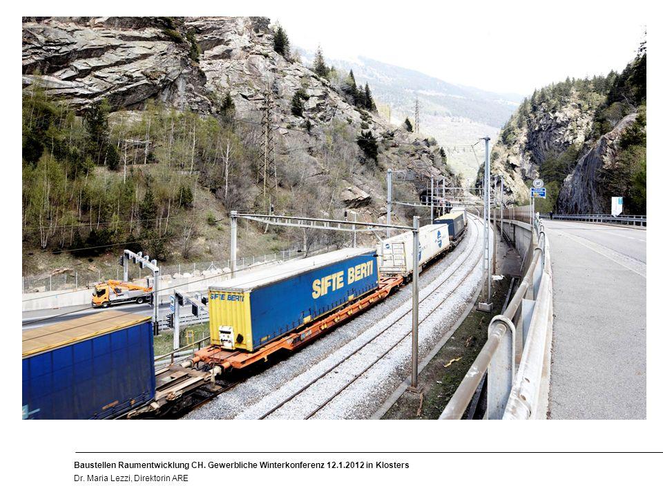 9 Baustellen Raumentwicklung CH. Gewerbliche Winterkonferenz 12.1.2012 in Klosters Dr.