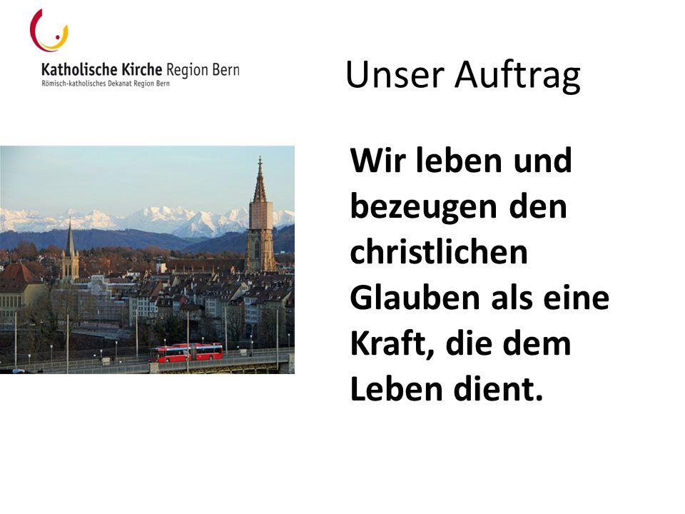 wichtige Medien «pfarrblatt» = Mitgliederzeitung erscheint wöchentlich www.kathbern.ch : Website der Katholischen Kirche auf kantonaler Ebene www.kathbern.ch Newsletter des Dekanats: Abonnieren unter http://www.kathbern.ch/index.php?id=5060 http://www.kathbern.ch/index.php?id=5060