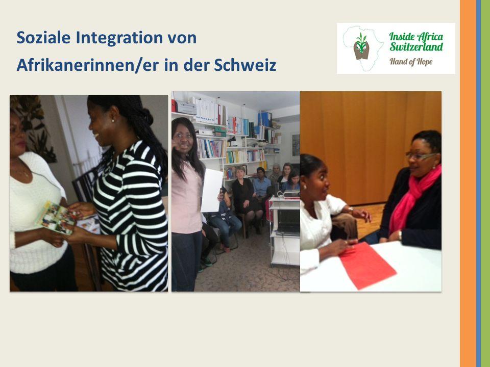 Soziale Integration von Afrikanerinnen/er in der Schweiz