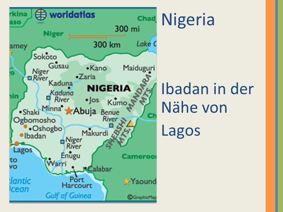 Nigeria Ibadan in der Nähe von Lagos