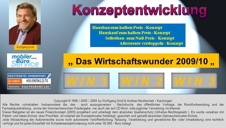 Copyright © 1996 / 2005 / 2009 by Wolfgang Groll & Andrea Hawlitschek / Kaufungen Alle Rechte vorbehalten. Insbesondere die, des - auch auszugsweisen