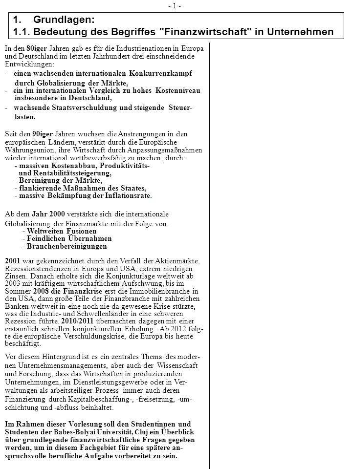 2.Rechtsformen 2.5 Genossenschaften - 21 - Die eingetragenen Genossenschaften: Sie ist eine juristische Person des Privatrechts (Körperschaft) mit lan- ger Tradition und dem Hintergrund der Selbsthilfe ihrer Mitglieder (z.B.