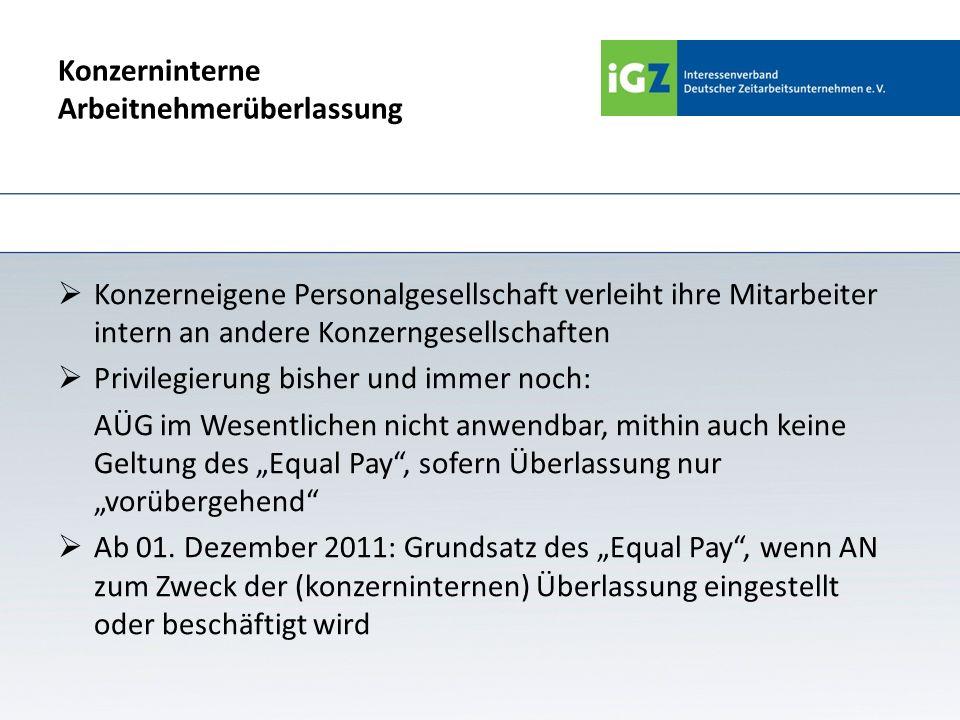 Merkmal vorübergehend Ab 1.12.2011: § 1 Abs.
