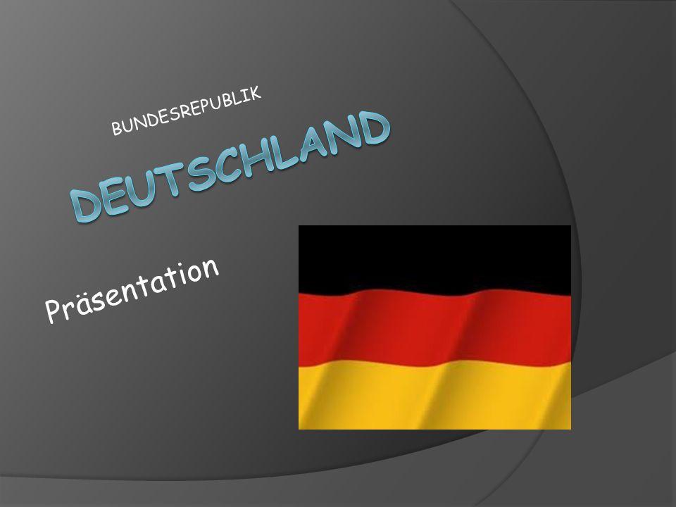 Bundesrepublik Deutschland ist einer der größten industriellen Macht in der Welt, in Mitteleuropa gelegen.