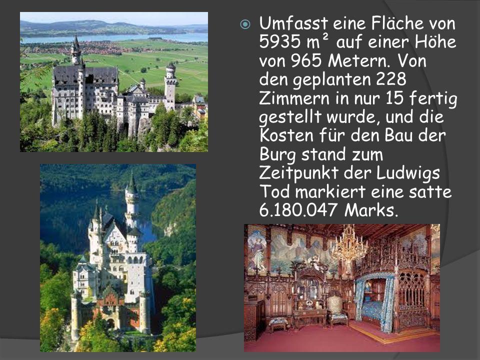 Umfasst eine Fläche von 5935 m² auf einer Höhe von 965 Metern. Von den geplanten 228 Zimmern in nur 15 fertig gestellt wurde, und die Kosten für den B