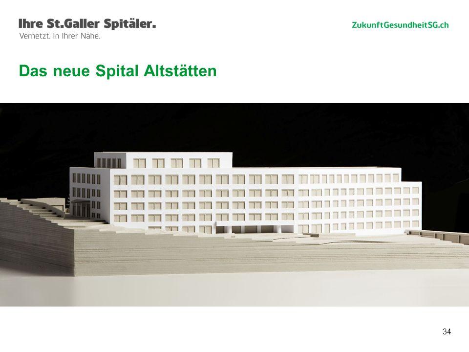 34 Das neue Spital Altstätten