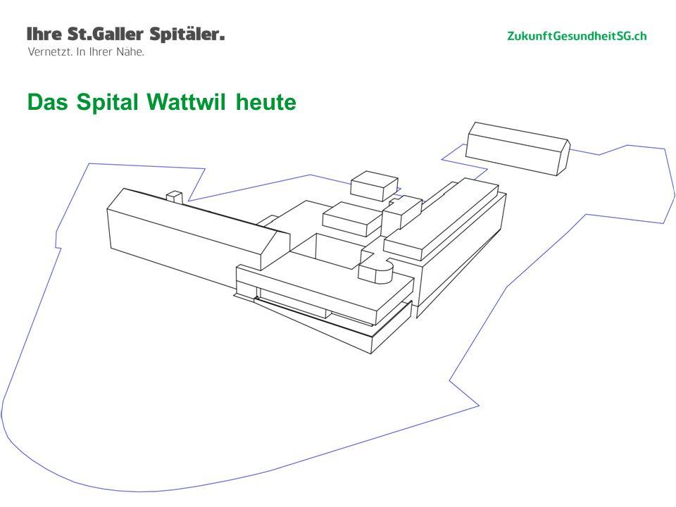 44 Das Spital Wattwil heute