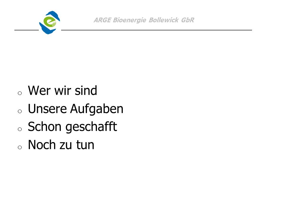 ARGE Bioenergie Bollewick GbR Dorf -K.E.R.N.