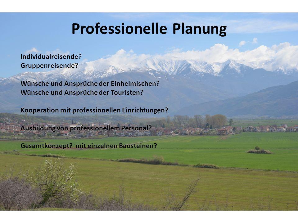 Professionelle Planung Individualreisende. Gruppenreisende.