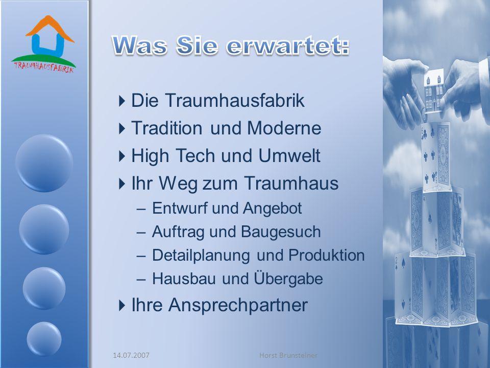 Größter Fertighausproduzent in Österreich Seit 1970 am Markt Lange Tradition Innovatives Unternehmen Ausgezeichnet mit Österr.