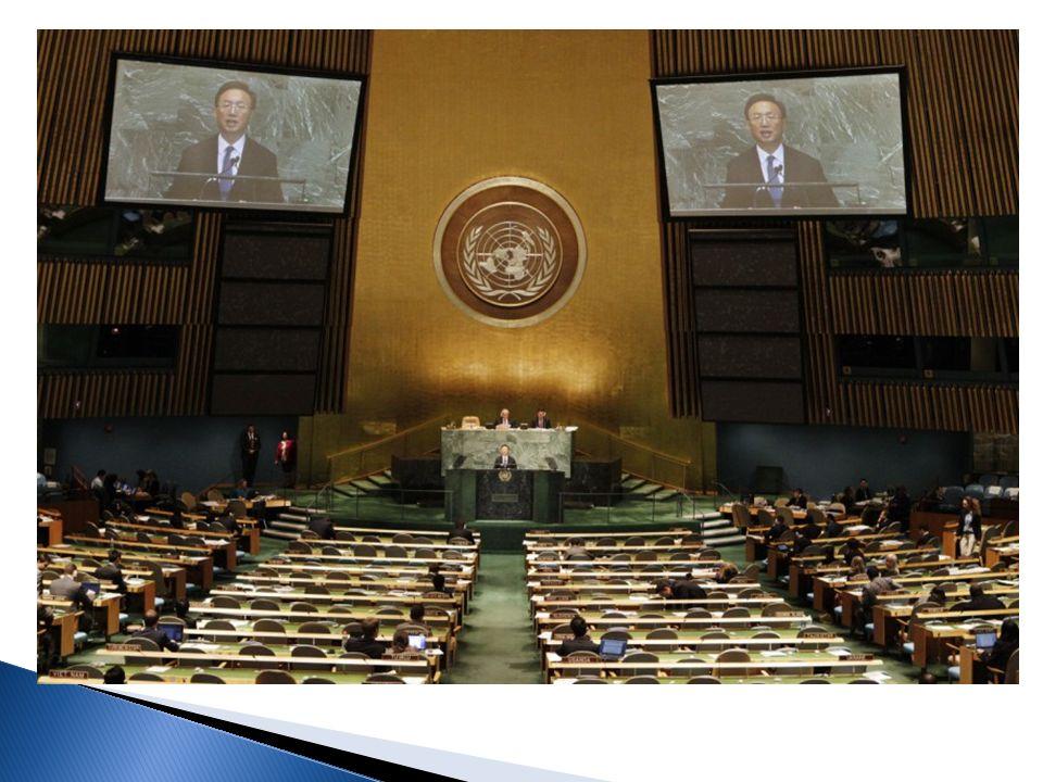 Wo.Im Hauptquartier in New York Was. Beratungsorgan der UN Wer.