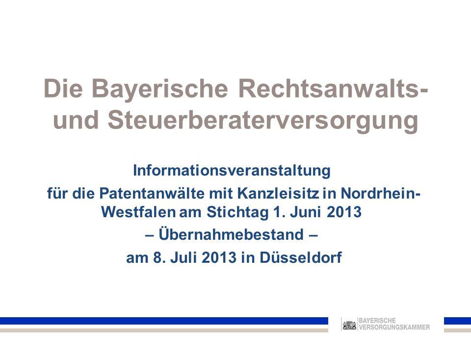 6.Sonderregelungen für den Übernahmebestand 42Informationsveranstaltung am 8.