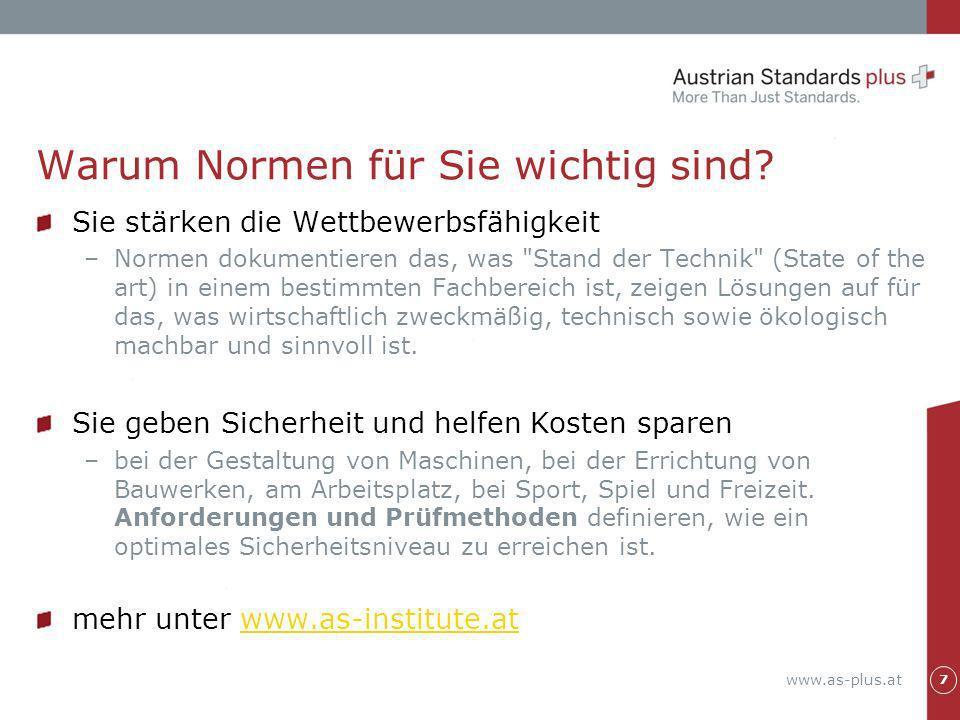 www.as-plus.at Das Dokument Sofort lesbar Sofort lokal speicherbar Sofort ausdruckbar 18