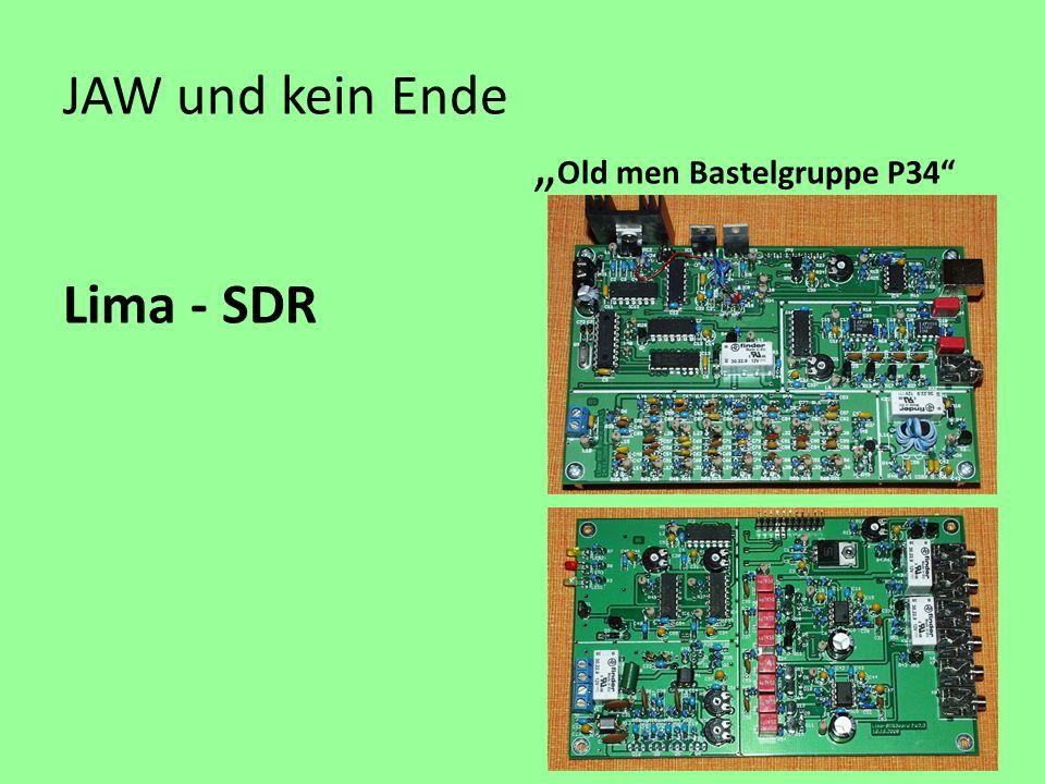 JAW und kein Ende Old men Bastelgruppe P34 Lima - SDR