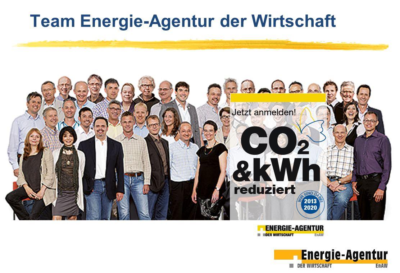 Team Energie-Agentur der Wirtschaft