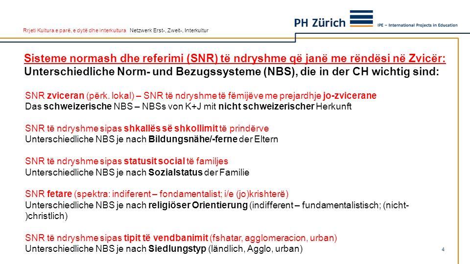 Rrjeti Kultura e parë, e dytë dhe interkultura Netzwerk Erst-, Zweit-, Interkultur SNR zviceran (përk.