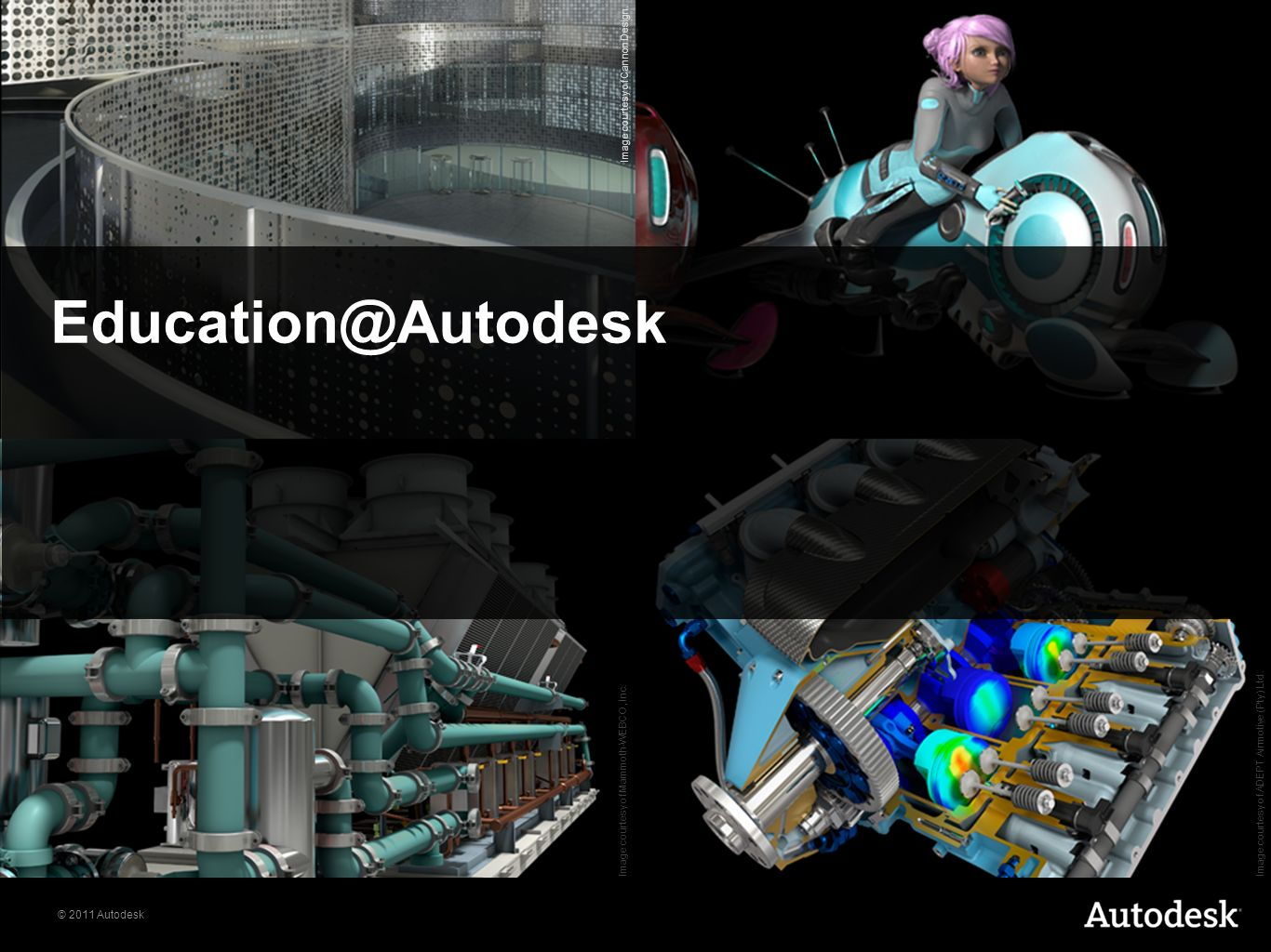 © 2011 Autodesk Education@Autodesk Image courtesy of ADEPT Airmotive (Pty) Ltd.