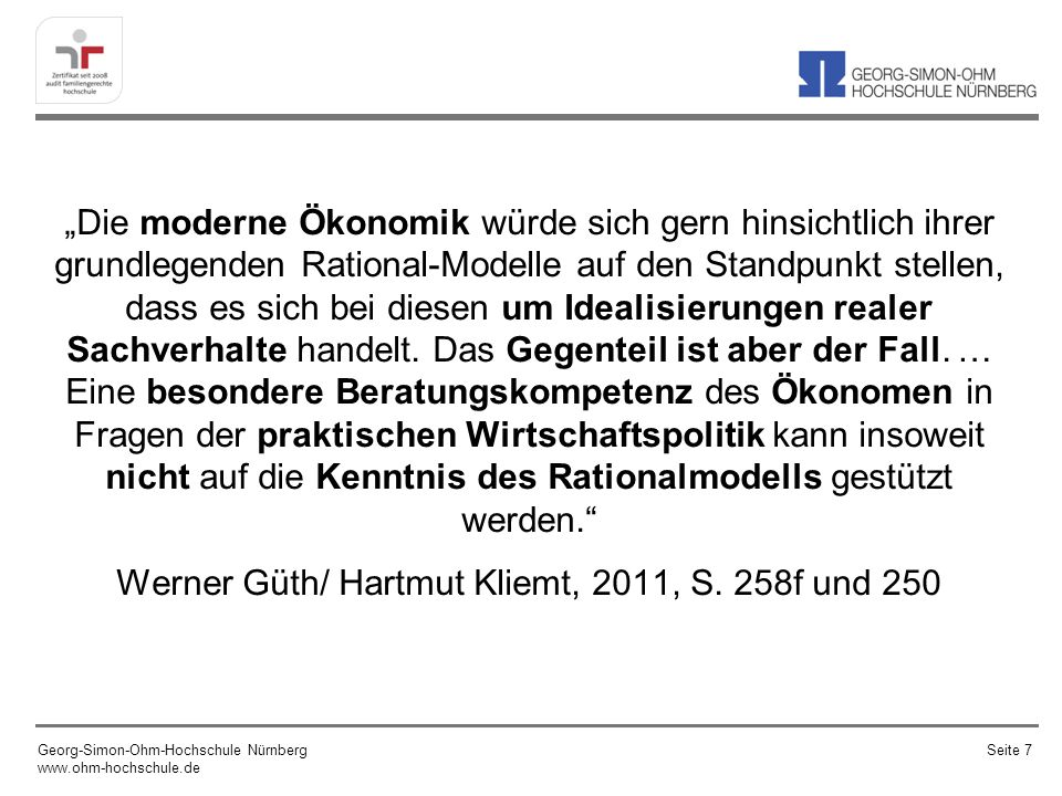 Georg-Simon-Ohm-Hochschule Nürnberg www.ohm-hochschule.de Seite 68