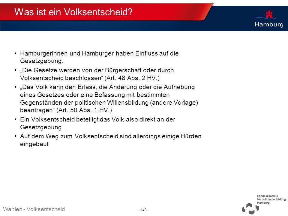 Absender Was ist ein Volksentscheid? Hamburgerinnen und Hamburger haben Einfluss auf die Gesetzgebung. Die Gesetze werden von der Bürgerschaft oder du