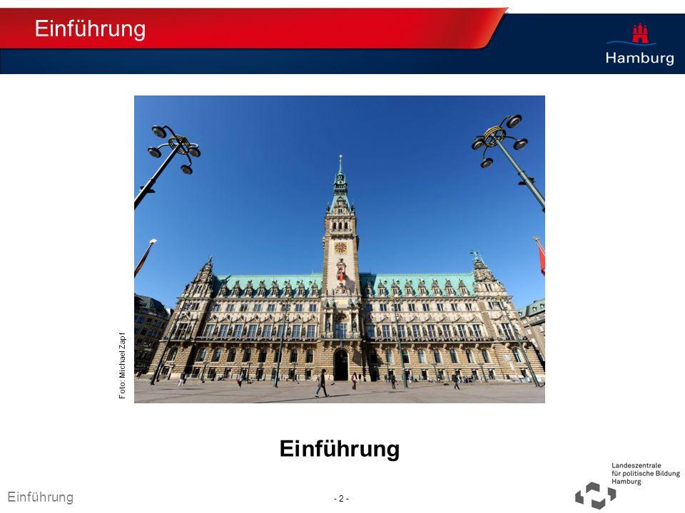 Absender Demokratie in Hamburg Was macht demokratische Politik in Hamburg möglich.
