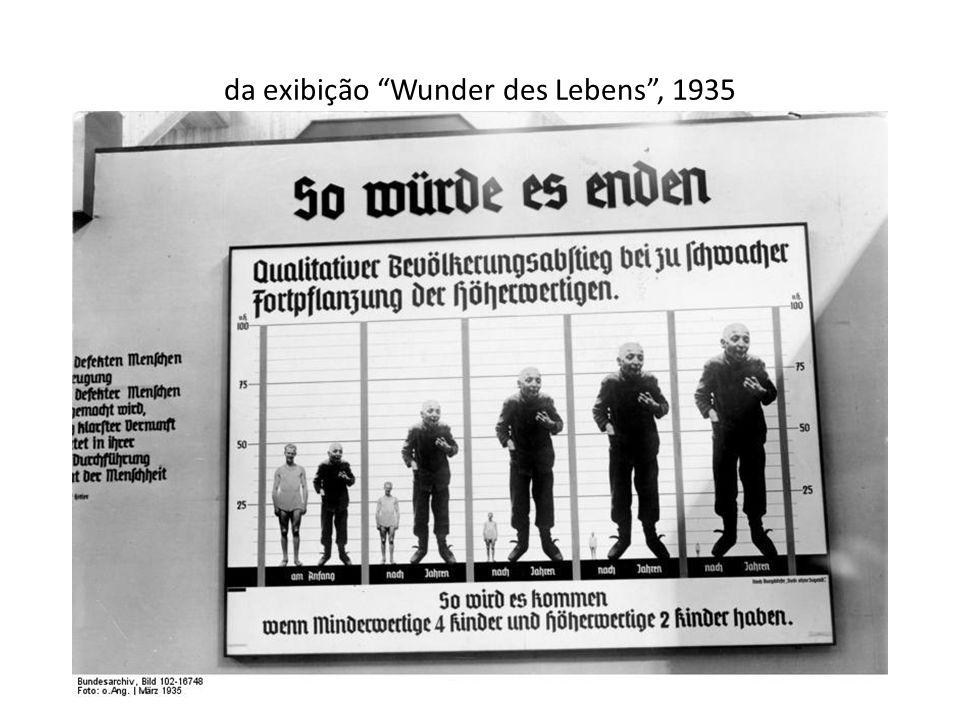 da exibição Wunder des Lebens, 1935