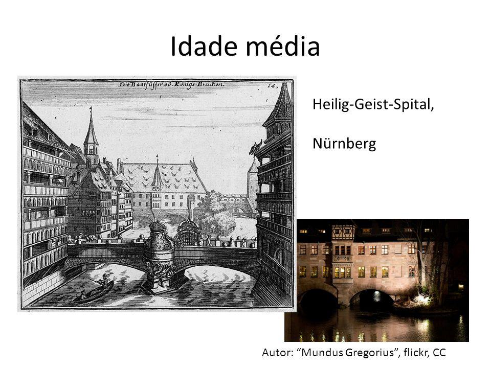 Idade média Heilig-Geist-Spital, Nürnberg Autor: Mundus Gregorius, flickr, CC