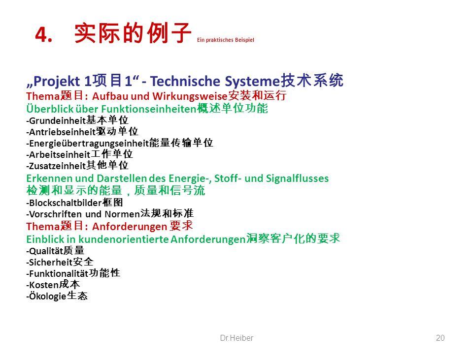 Projekt 1 1 - Technische Systeme Thema : Aufbau und Wirkungsweise Überblick über Funktionseinheiten -Grundeinheit -Antriebseinheit -Energieübertragung
