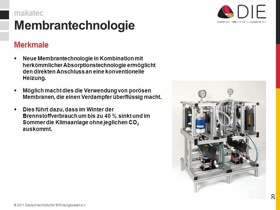 Neue Membrantechnologie in Kombination mit herkömmlicher Absorptionstechnologie ermöglicht den direkten Anschluss an eine konventionelle Heizung.