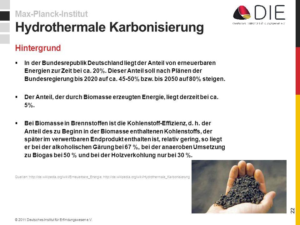 In der Bundesrepublik Deutschland liegt der Anteil von erneuerbaren Energien zur Zeit bei ca.