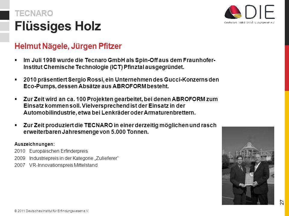 Im Juli 1998 wurde die Tecnaro GmbH als Spin-Off aus dem Fraunhofer- Institut Chemische Technologie (ICT) Pfinztal ausgegründet.