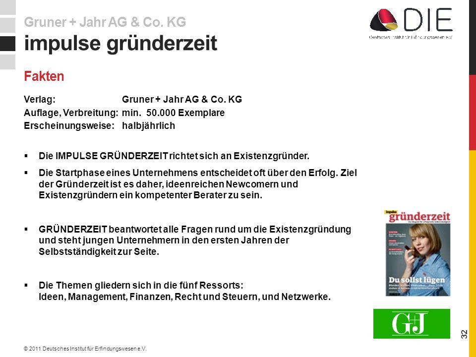 Verlag: Gruner + Jahr AG & Co.KG Auflage, Verbreitung: min.
